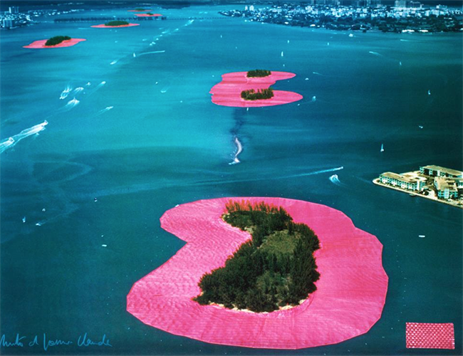 Surrounded Islands / Christo & Jean Claude / Greater Miami, Florida, 1980-83